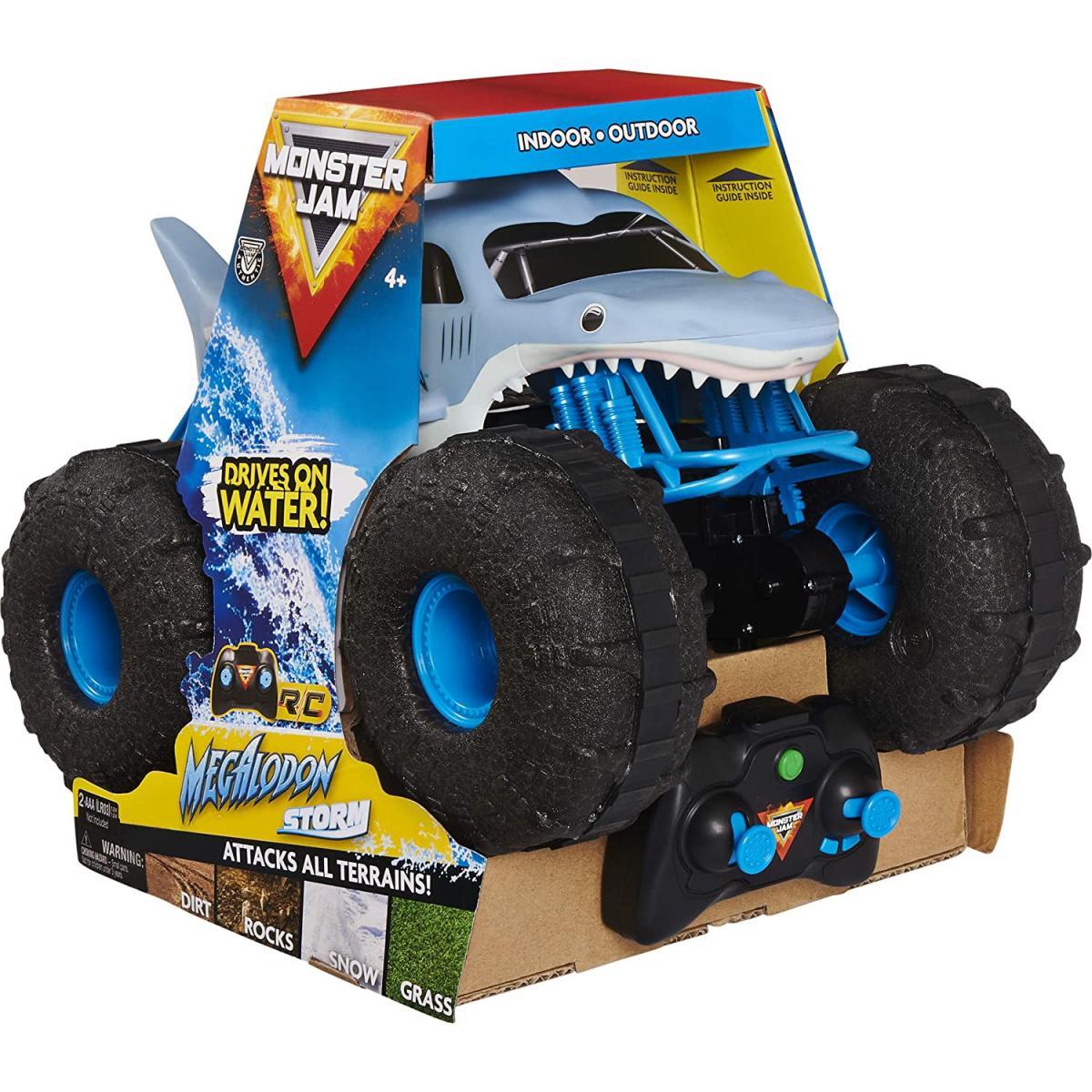 Spin Master Spin Master 6056227 - Monster Jam RC Megalodon Strom Amphibie