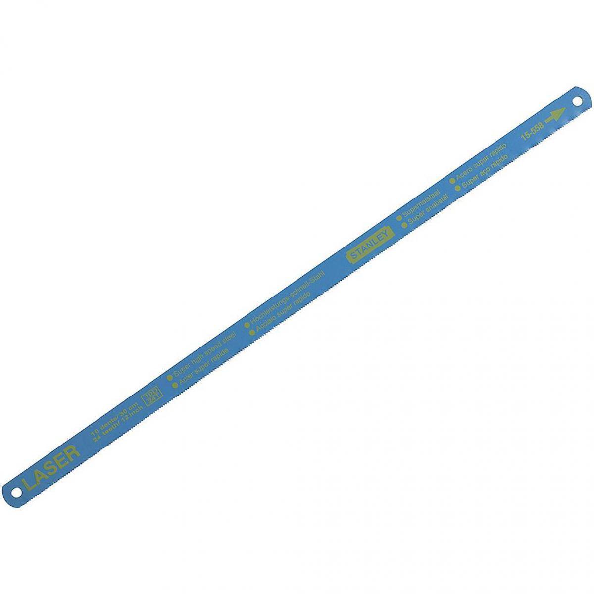 Stanley Stanley - Lame de scie à métaux bi-Laser HSS Longueur 300 mm 24D/pouce (boîte 100)
