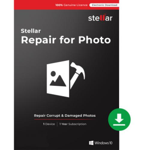 Stellar - Stellar Repair for Photo - Windows - Licence 1 an - 1 poste - Logiciels