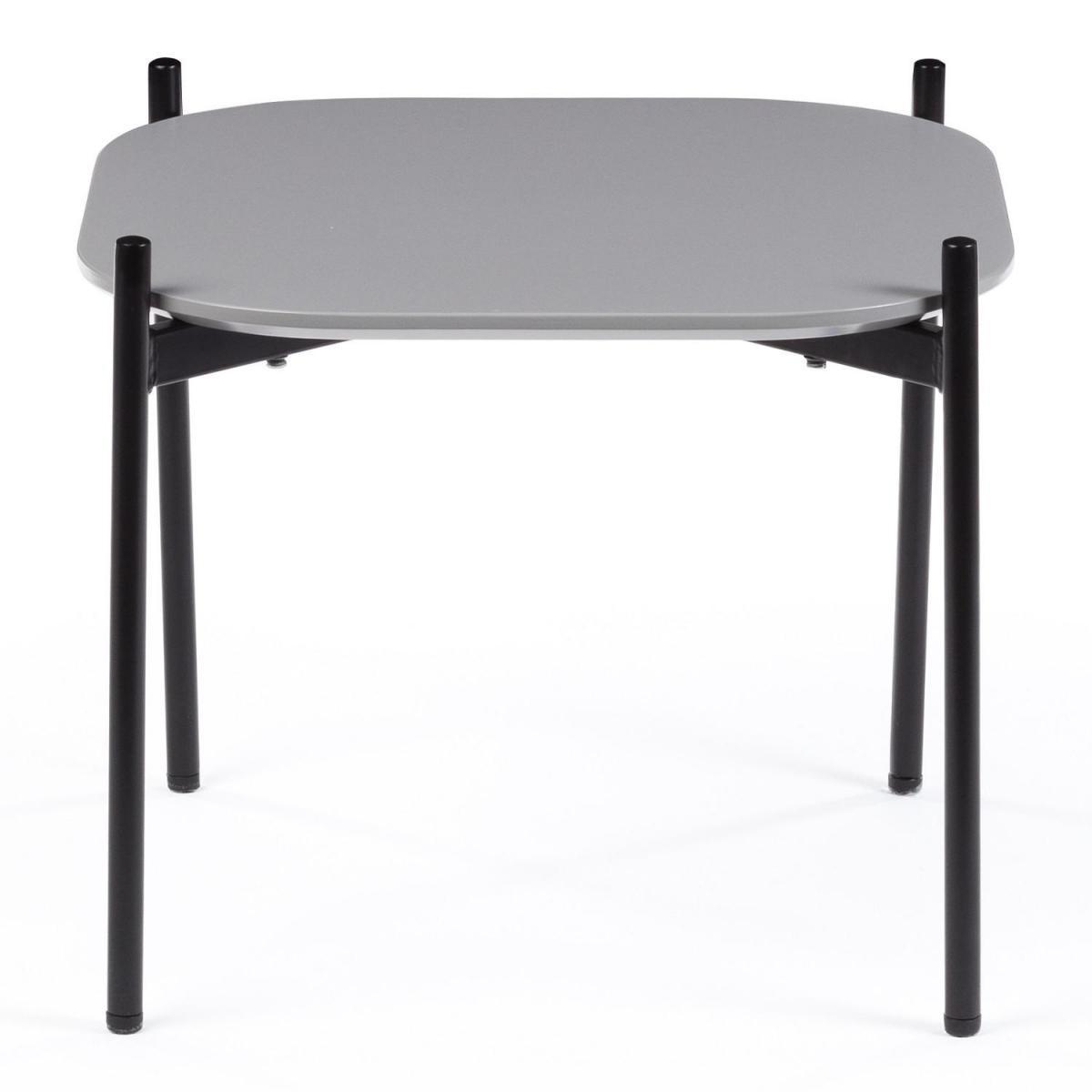 Stylez Table basse grise 50cm