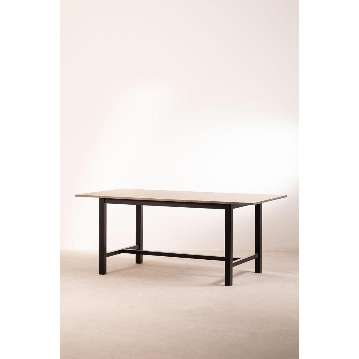 Stylez Table bois foncé 2m
