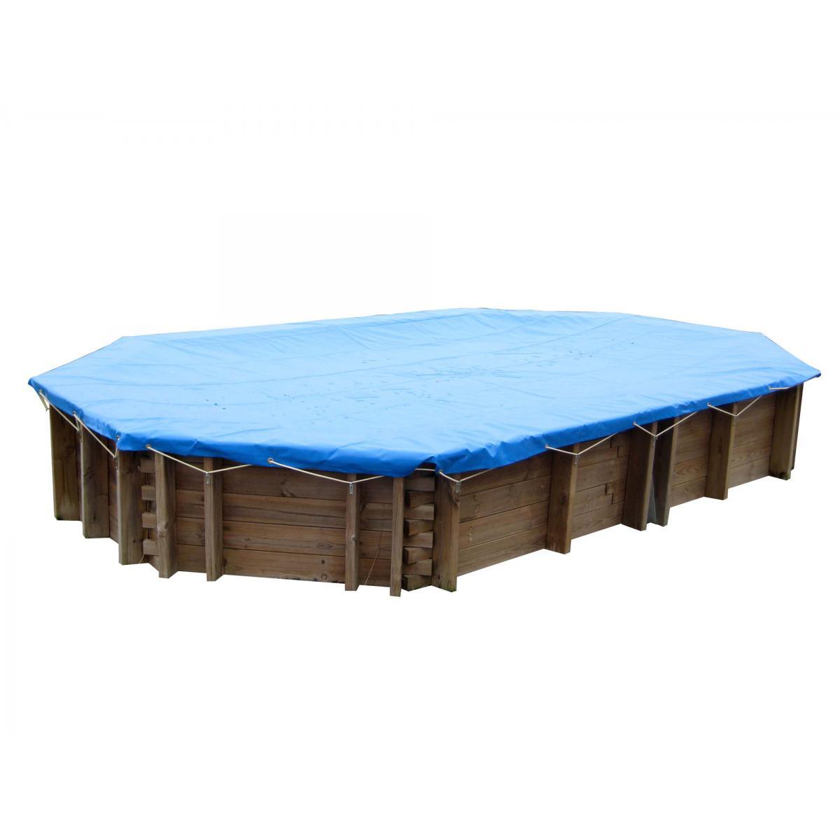 Sunbay Bâche hiver pour piscine Wasabi 6,20 m x 3,95 m