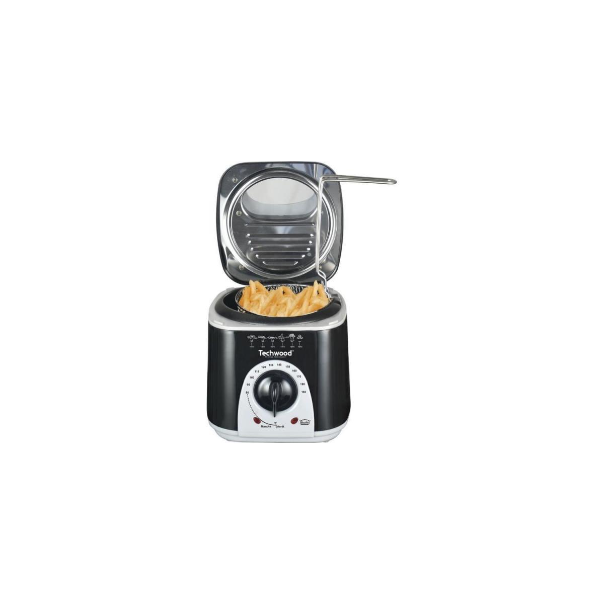 Techwood TECHWOOD Mini Friteuse et Appareil a fondu - 950 W - Noir