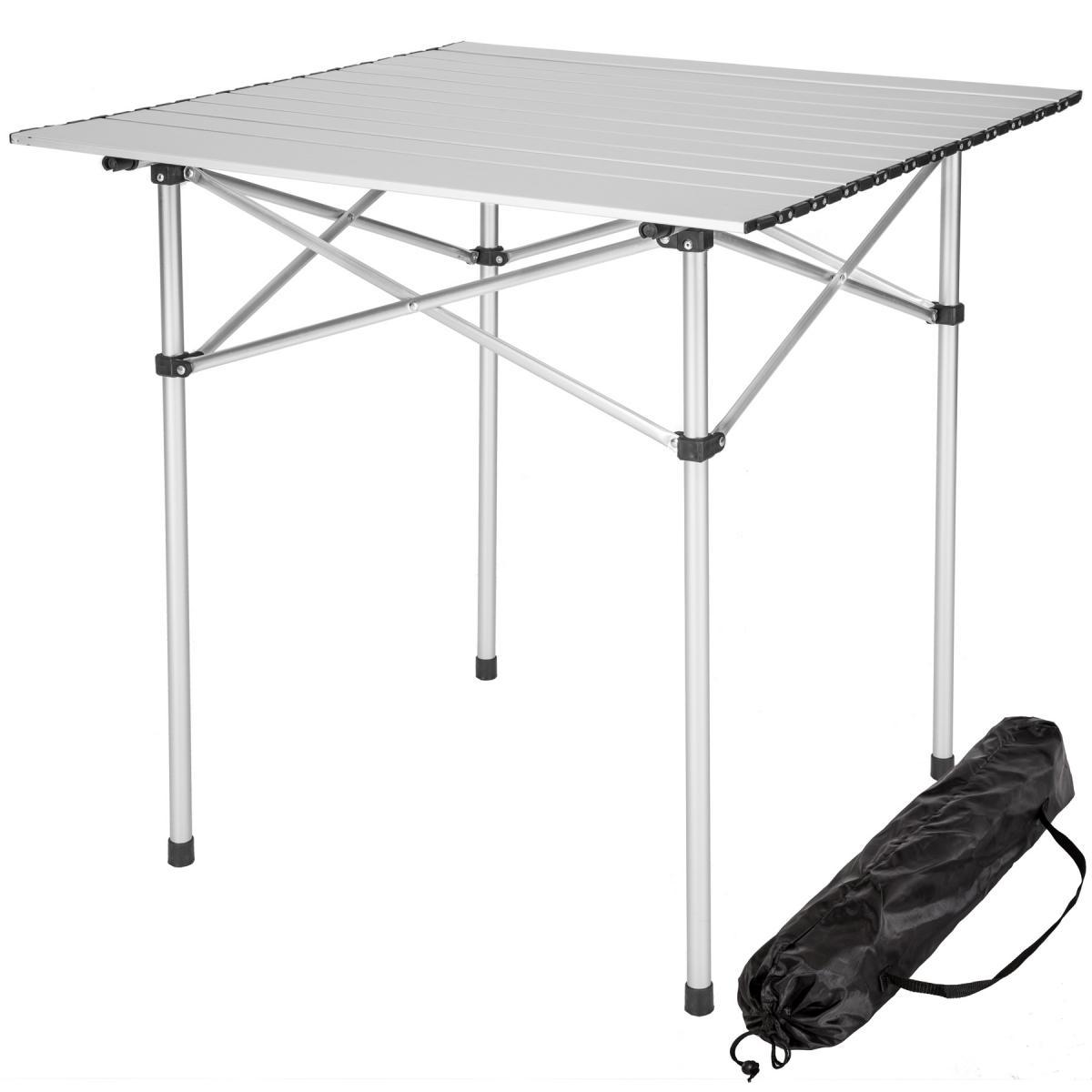 Tectake TecTake Table pliante 70 x 70 x 70 cm