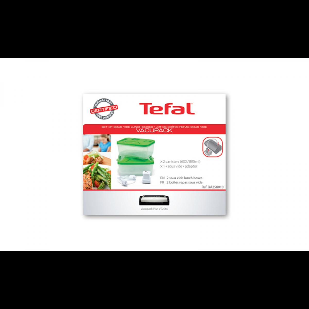 Tefal ACCESSOIRE LUNCH BOX VACUPACK POUR PETIT ELECTROMENAGER TEFAL - XA258010