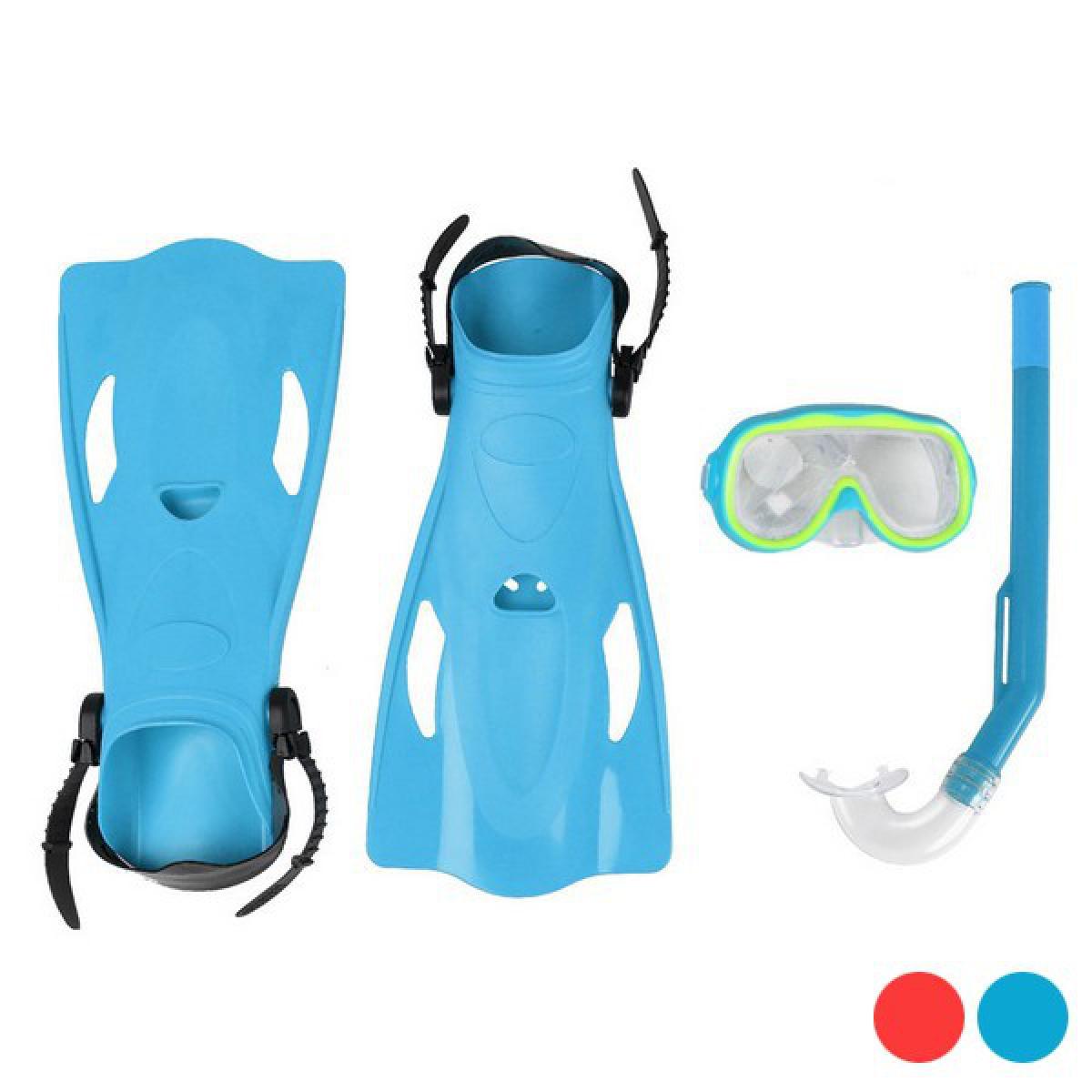 Totalcadeau Accessoires de Plongée pour enfant - Palmes, masque et tuba pour met et piscine Pas cher