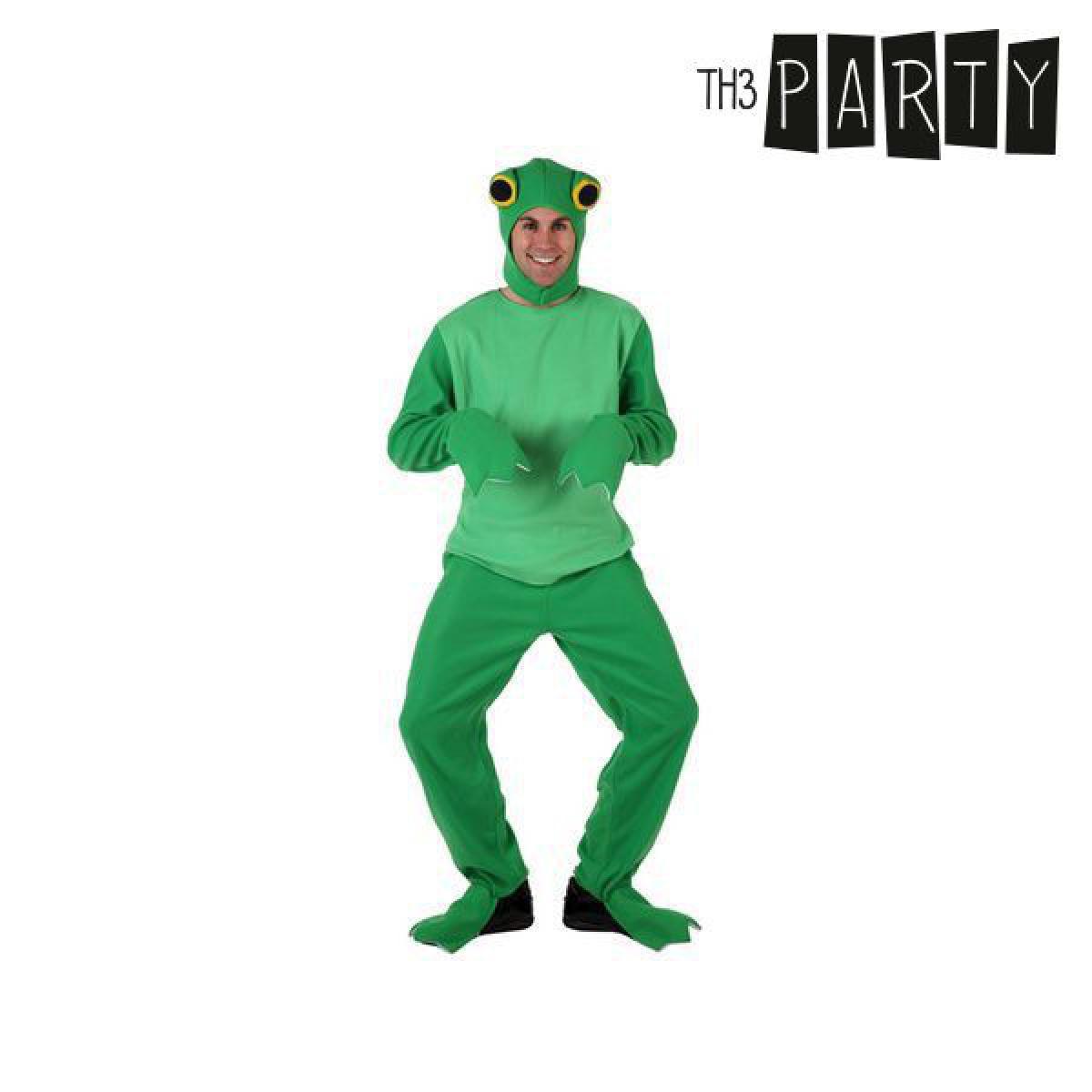 Totalcadeau Costume grenouille verte avec cagoule pour homme - Déguisement panoplie Pas cher