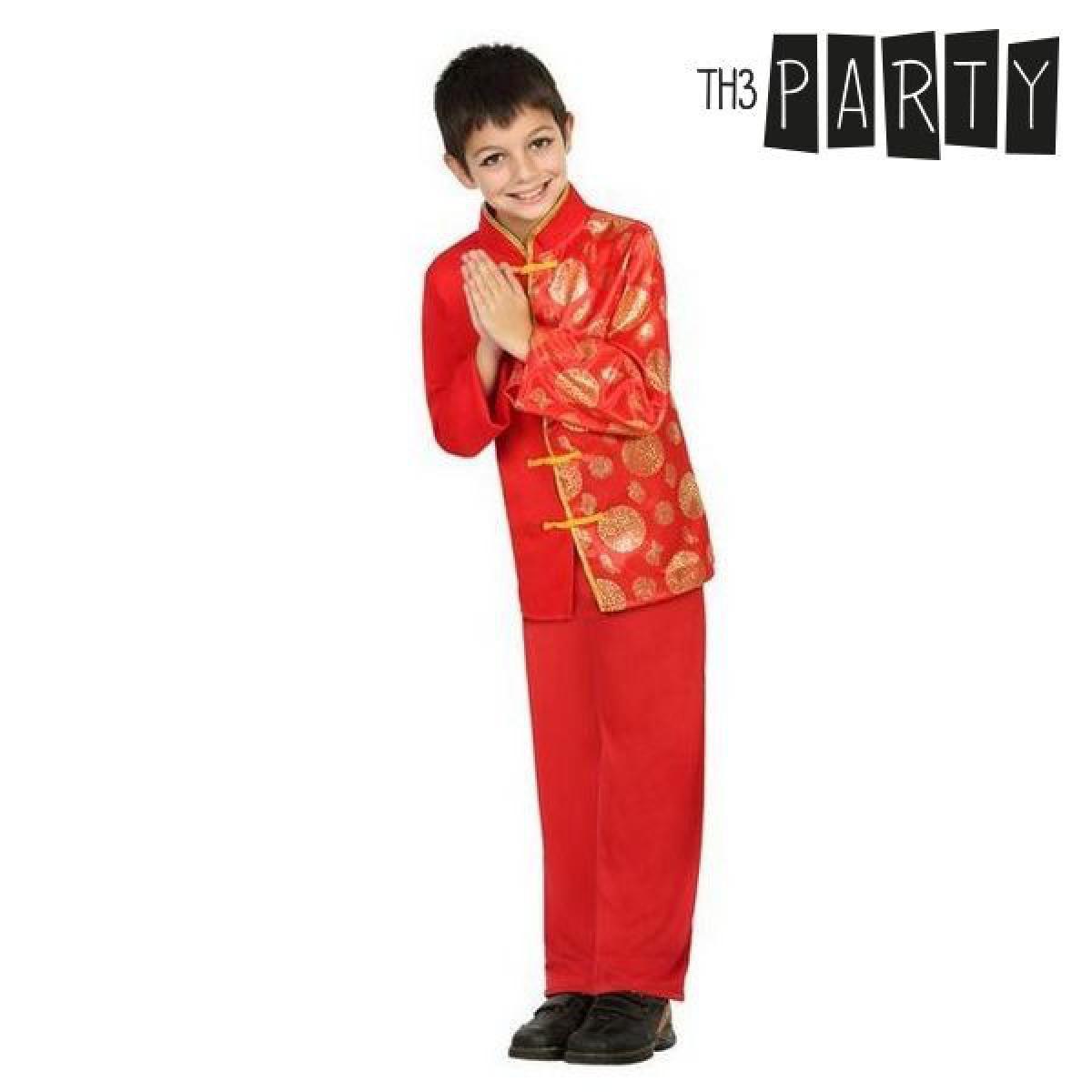 Totalcadeau Déguisement pour garçon Chinois Rouge - Costume enfant Pas cher