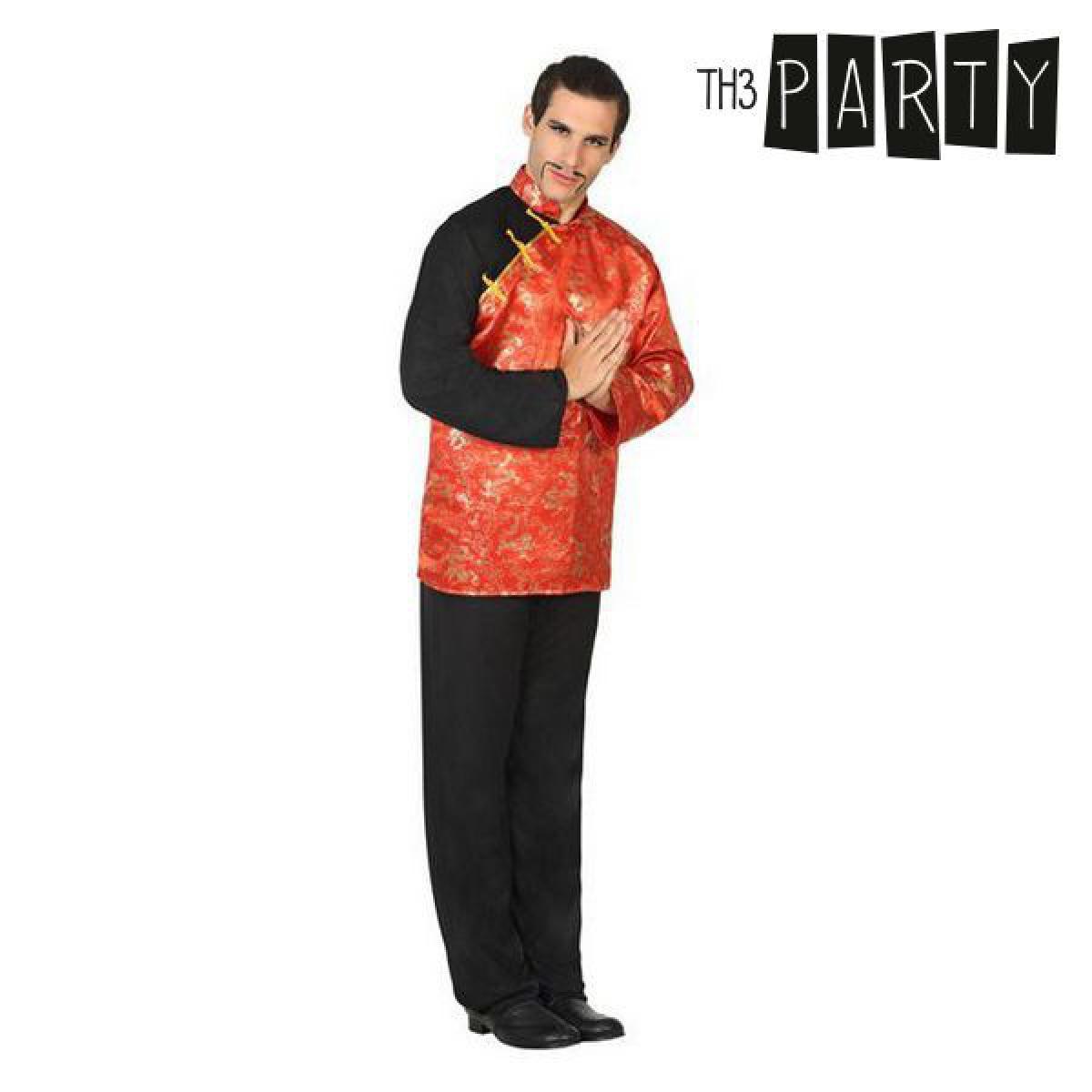 Totalcadeau Déguisement pour homme Chinois orange - Costume panoplie Pas cher