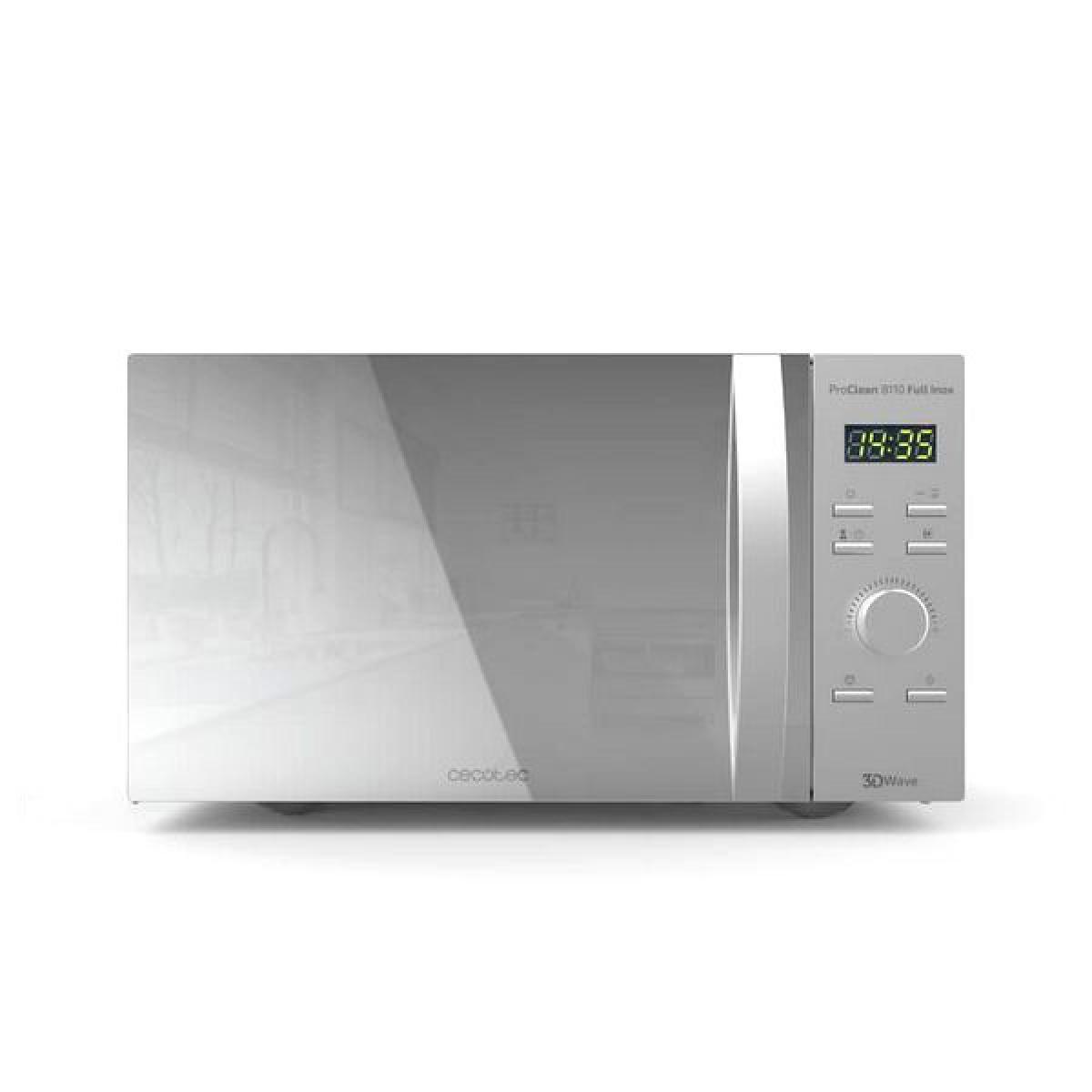 Totalcadeau Micro-ondes avec grill intégré Plateau tournant