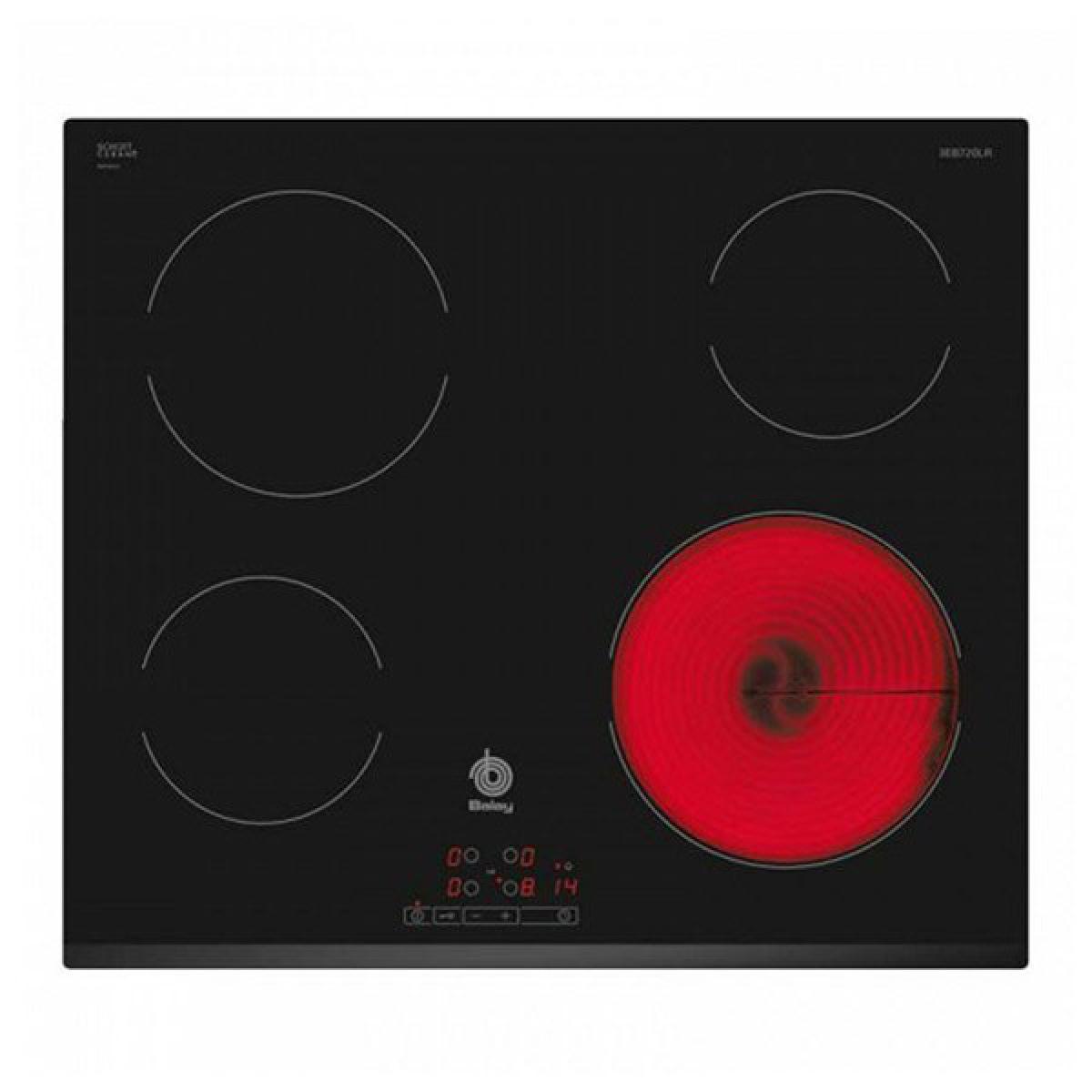 Totalcadeau Plaques vitro-céramiques à 4 zones de cuisson 60 cm
