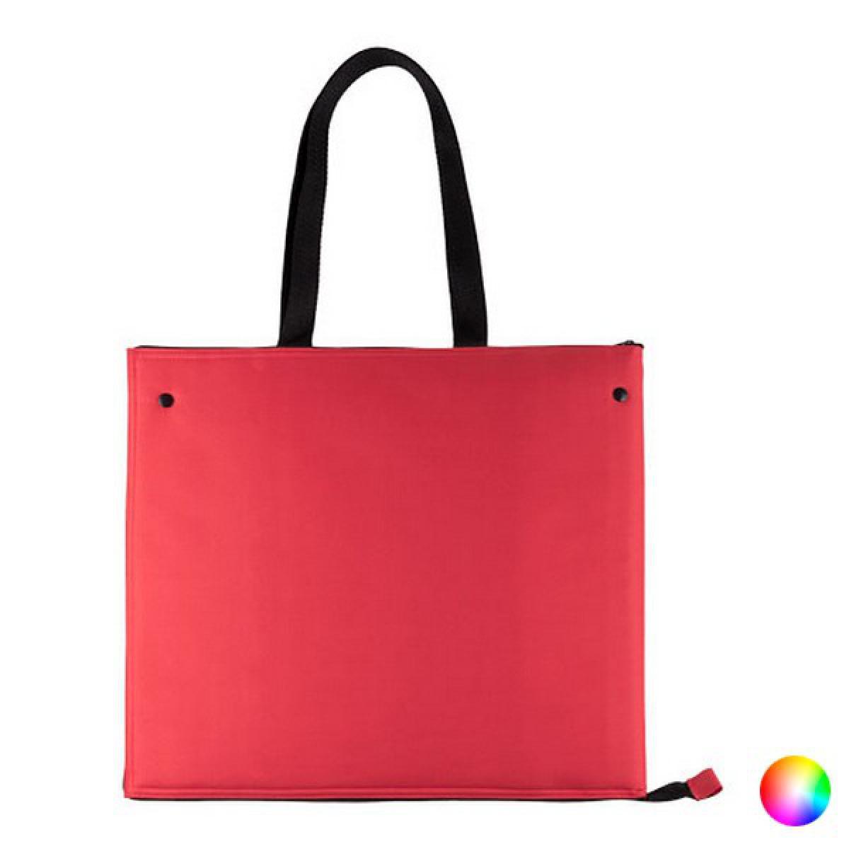 Totalcadeau Sac Réfrigérant en polyester avec intérieur isotherme en aluminium - Sac glaçiere Couleur - Rouge