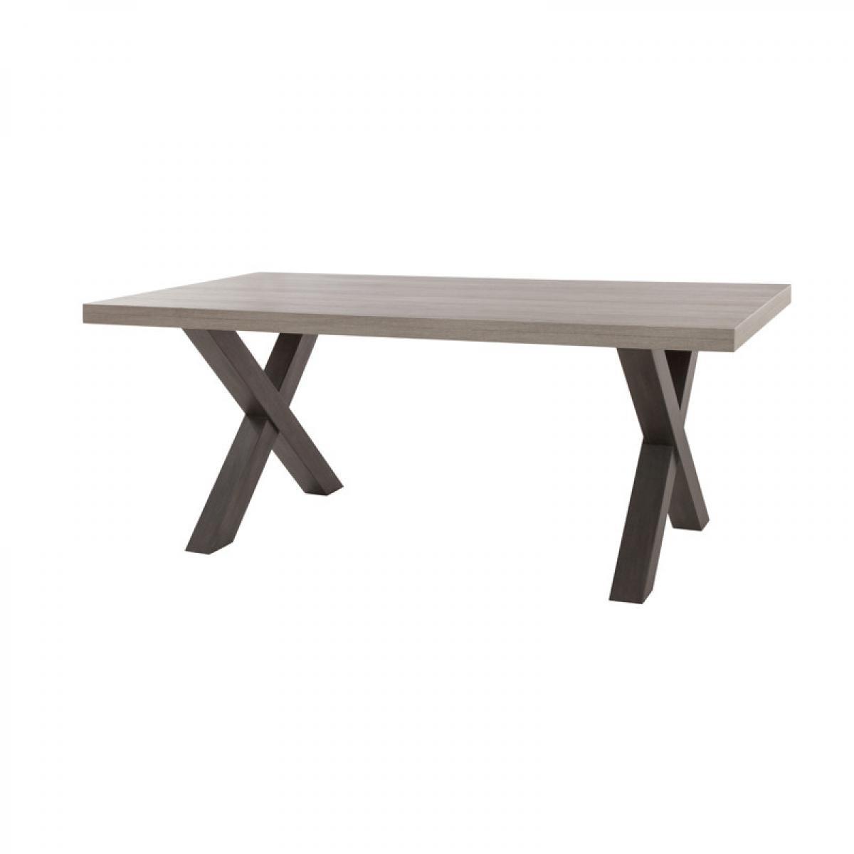 Tousmesmeubles Table de repas 220 cm - TOLOSA