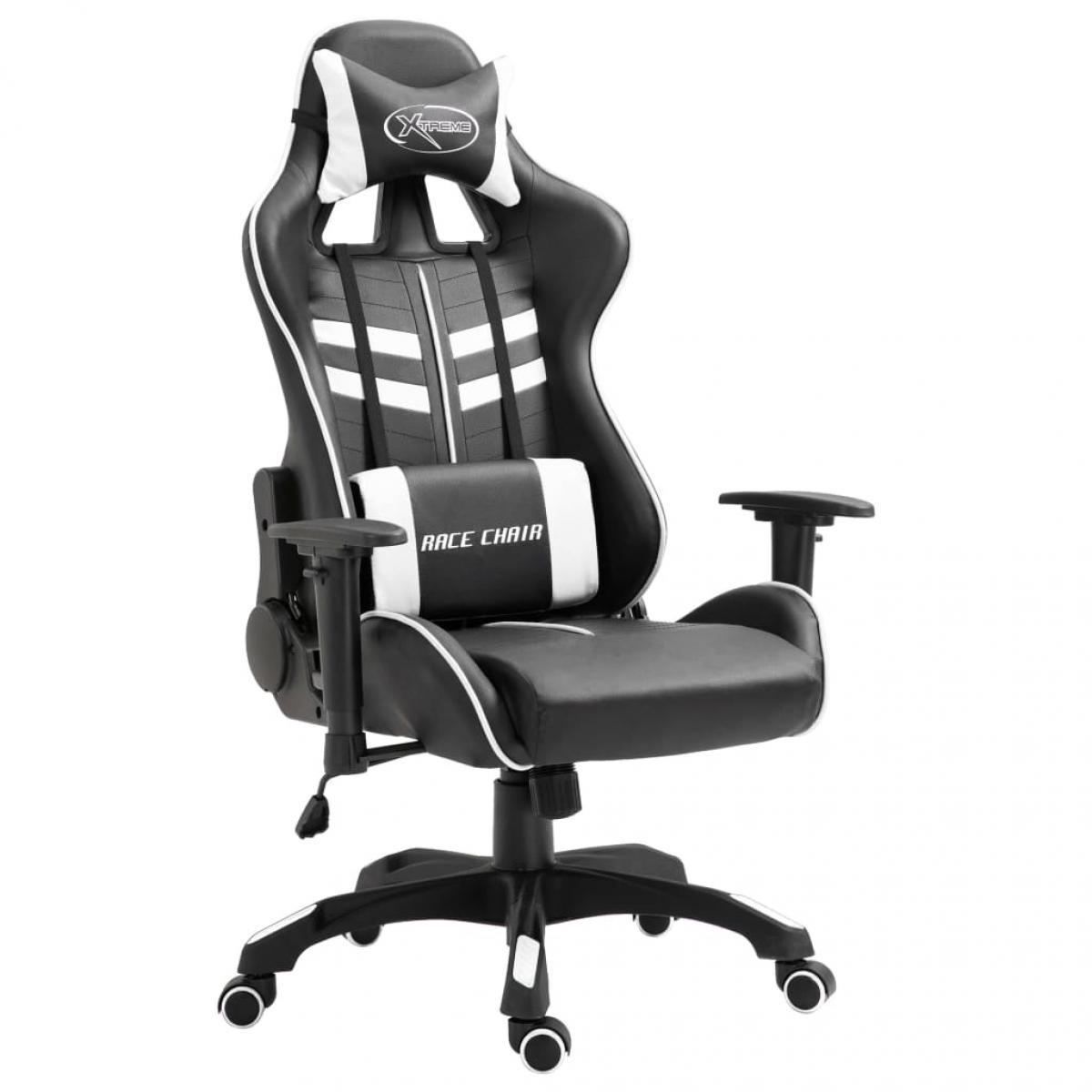 Uco UCO Chaise de jeu Blanc Similicuir