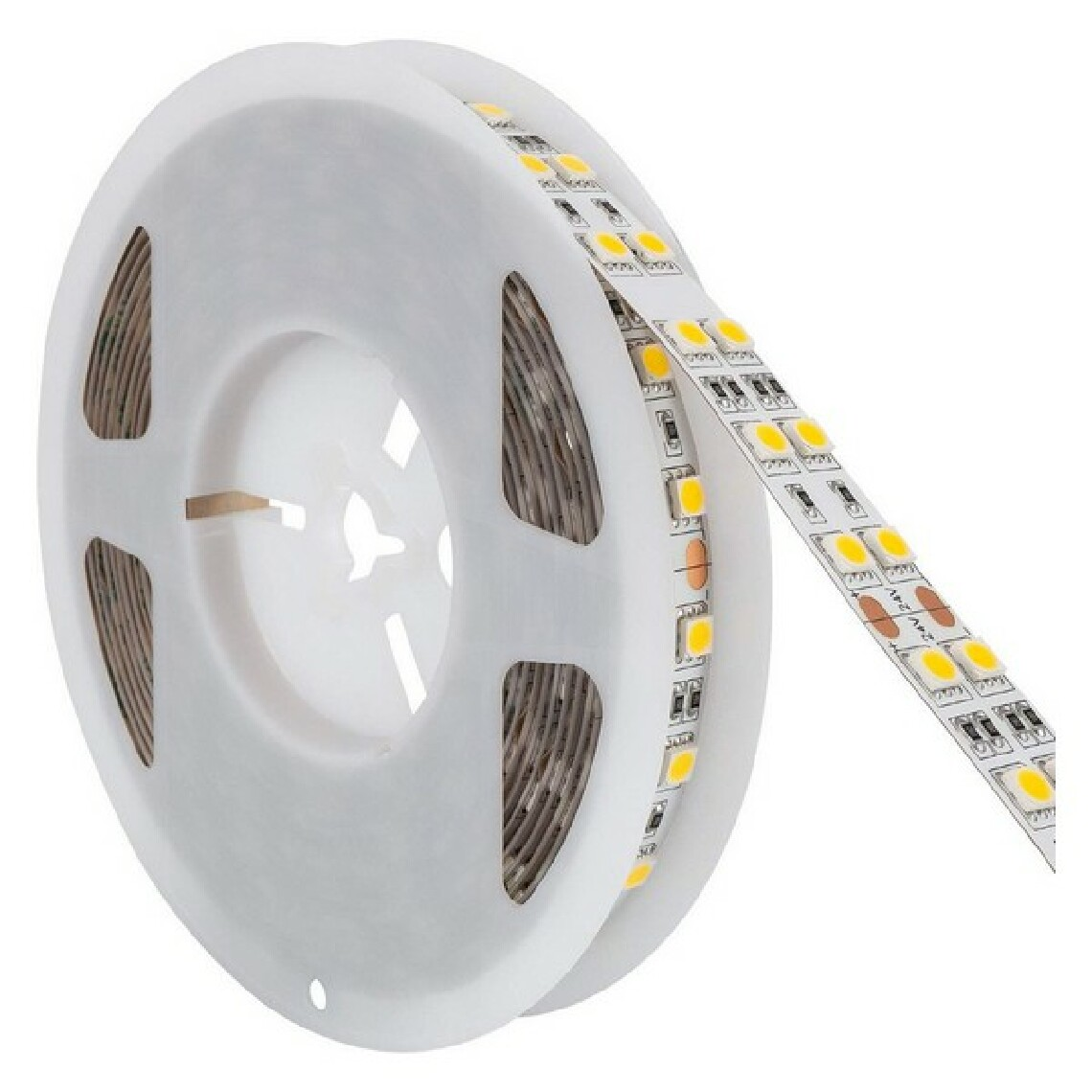 Unknown Bandes LED Ledkia 5 m IP20 A+ 17 W 2640 Lm (Blanc froid 6000K - 6500K)