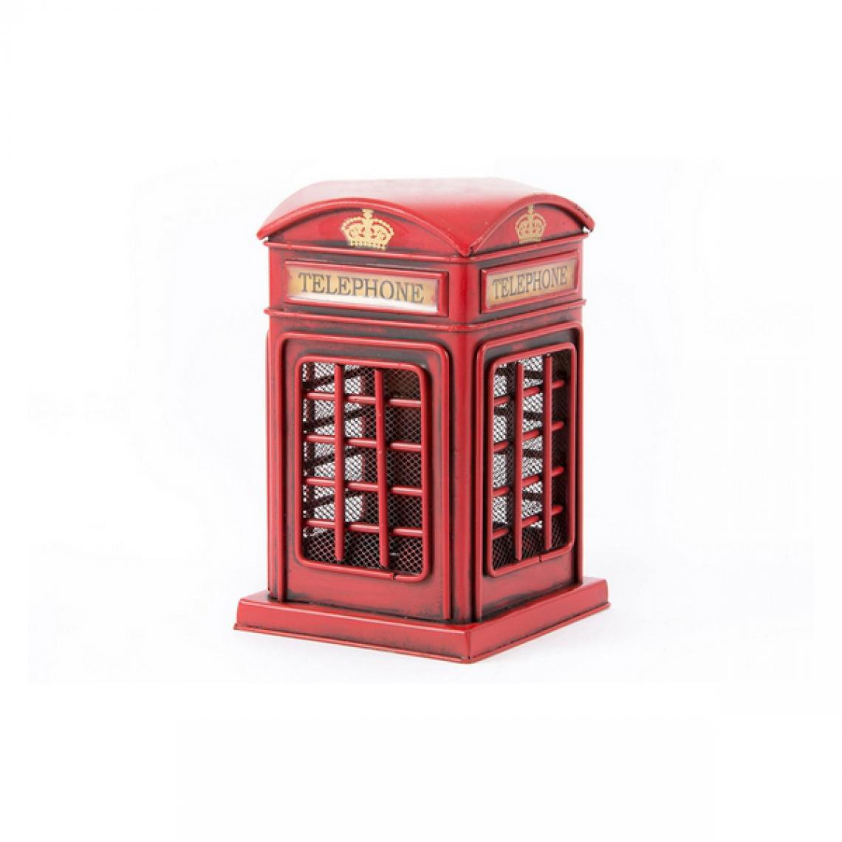 Unknown Figurine Décorative Dekodonia Telephone Métal (17 x 10 x 10 cm)