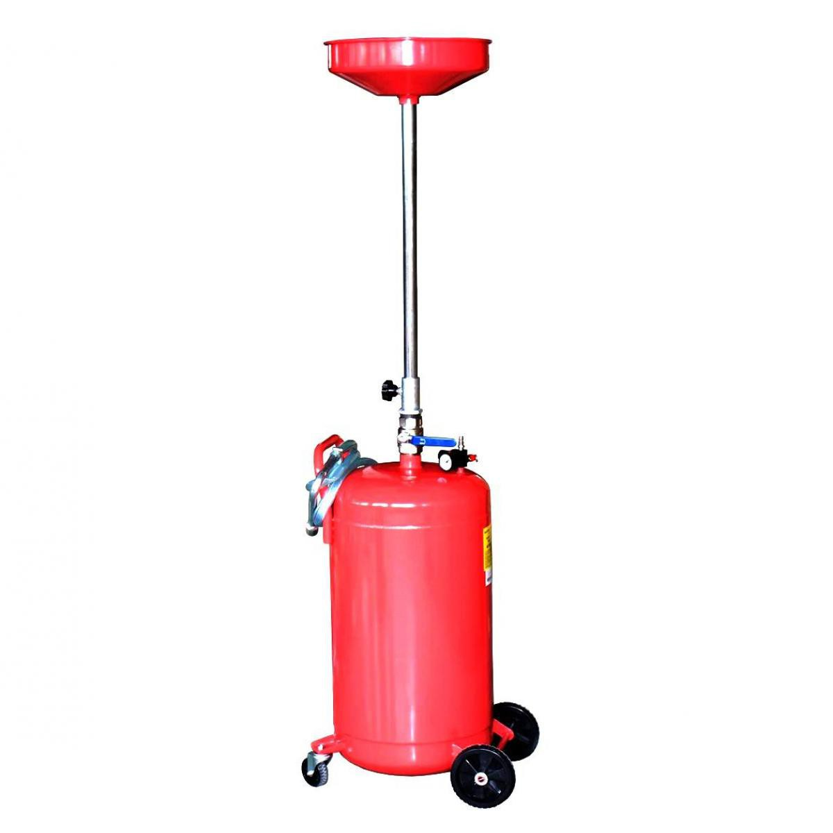 Varanmotors Varan Motors - NEOLD-17 Récupérateur d'huile de vidange pneumatique 80 litres