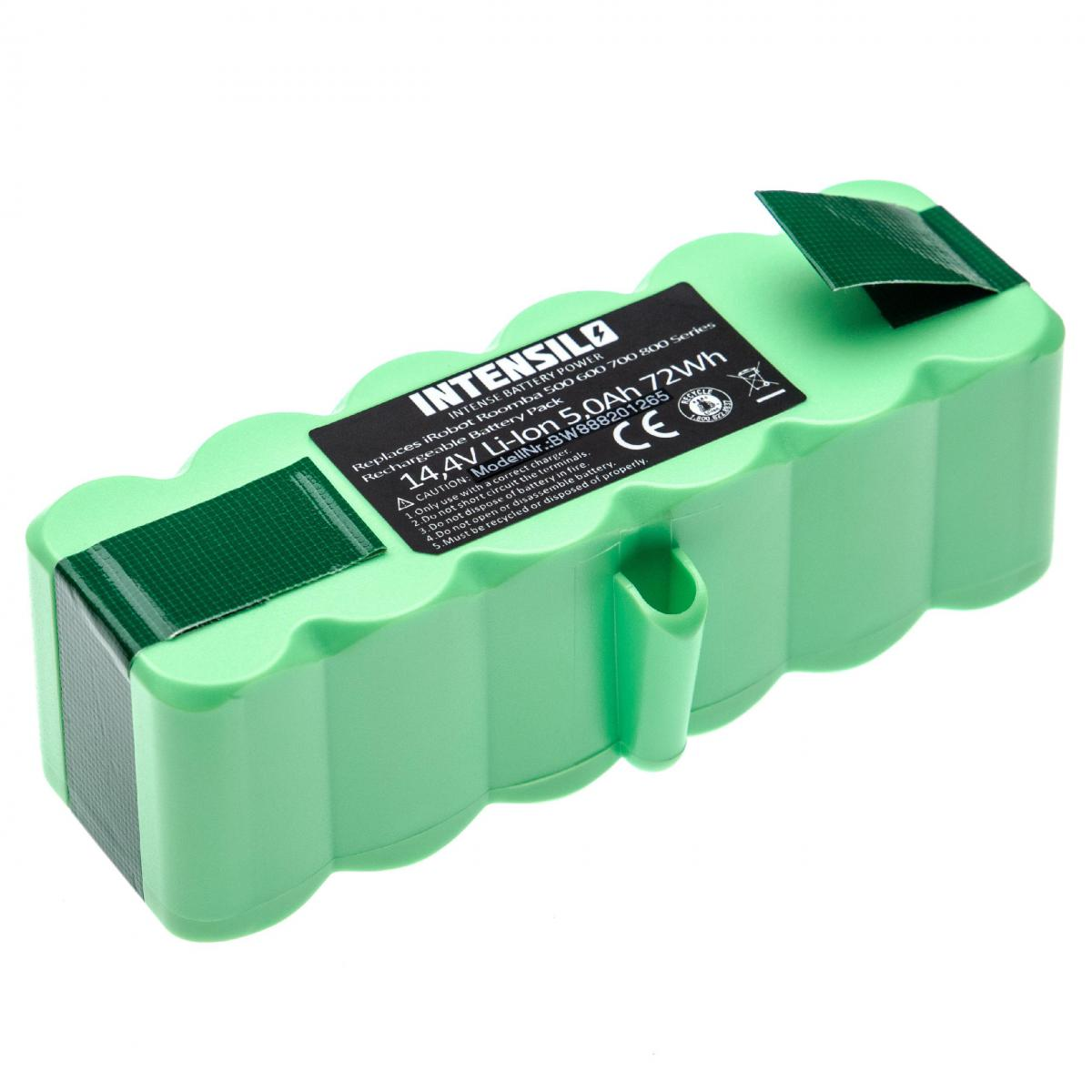 Vhbw INTENSILO batterie compatible avec iRobot Roomba 801, 805, 850, 860, 877, 890, 891, 895 aspirateur Home Cleaner (5000mAh