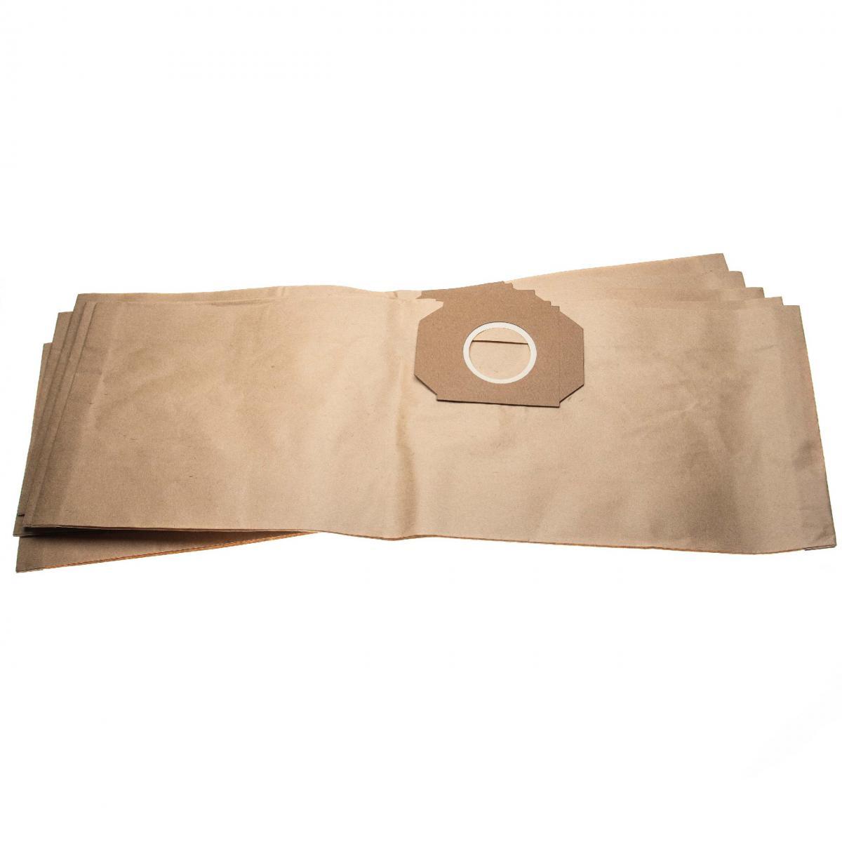 Vhbw vhbw 10 sacs papier compatible avec Thomas Vario 20 S aspirateur 63,3cm x 22cm