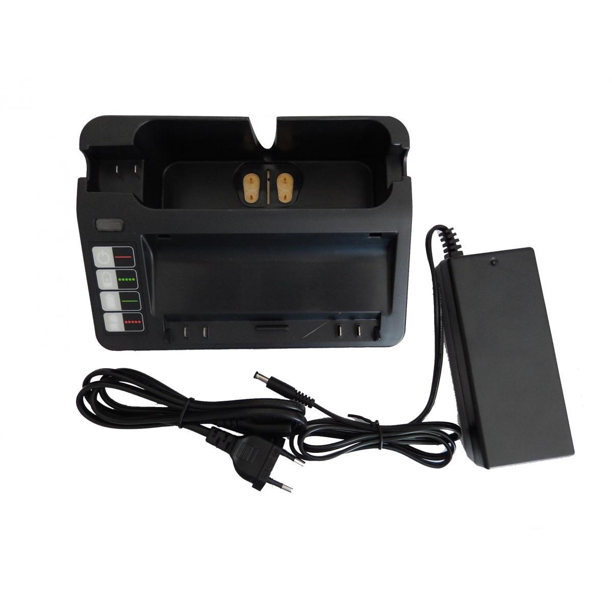Vhbw vhbw 220V Bloc d'alimentation chargeur compatible avec Ryobi remplace 14904, BPL18151, 11700, 17373, NC-3493-919, 11702