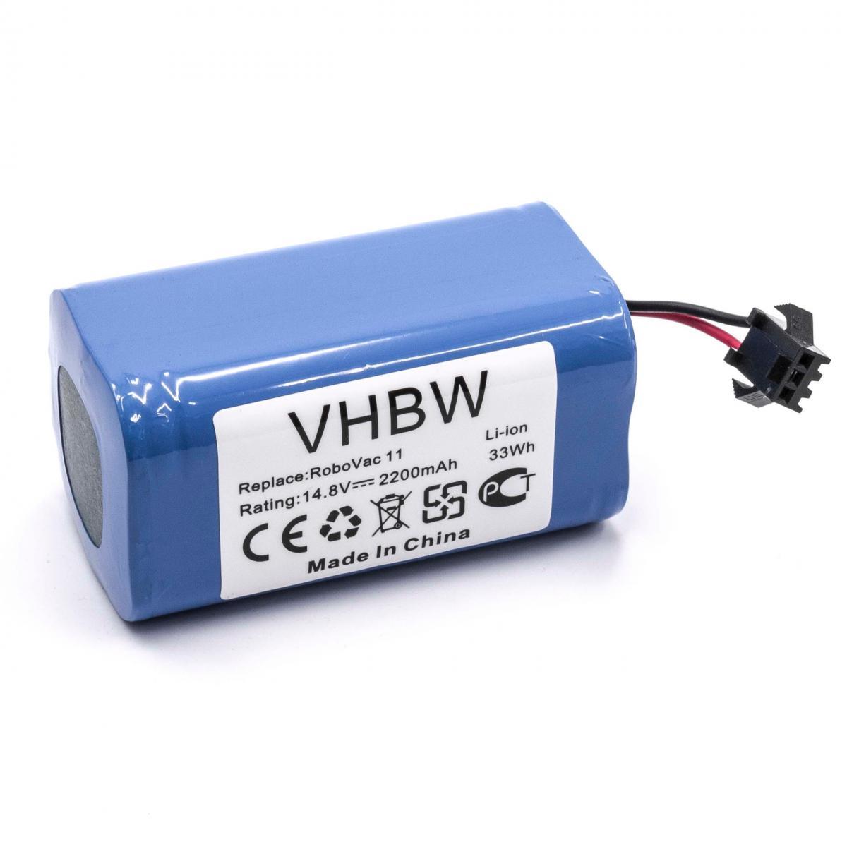 Vhbw vhbw batterie compatible avec Ecovacs Deebot 601, 605, DN622 robot électroménager (2200mAh, 14,8V, Li-ion)