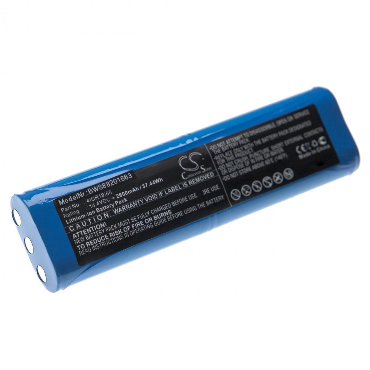 Vhbw vhbw batterie compatible avec Philips FC8810, FC8820, FC8830, FC8832 aspirateur Home Cleaner (2600mAh, 14,4V, Li-Ion)