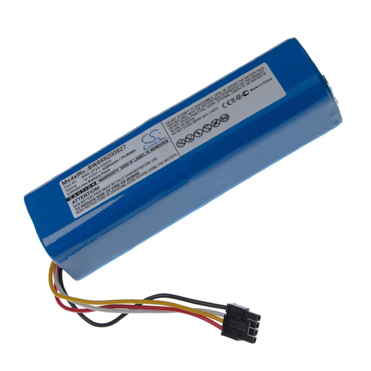 Vhbw vhbw batterie compatible avec Xiaomi Mi Robo, Mijia Roborock S50, Mijia Roborock S51, Millet Sweeper Home Cleaner (5200m