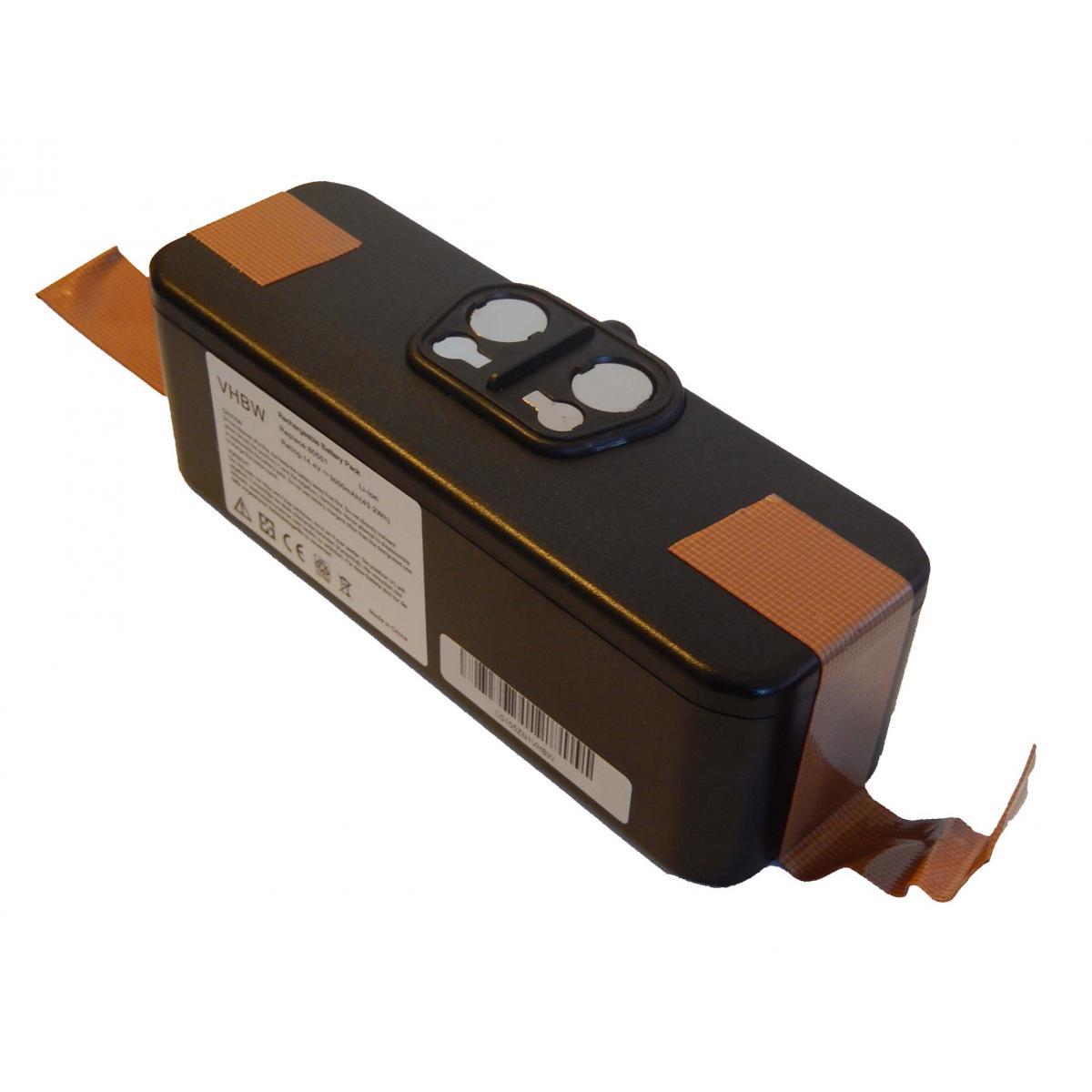 Vhbw vhbw Batterie Li-Ion 3000mAh (14.4V) compatible avec iRobot Roomba 611, Roomba 612, Roomba 614, Roomba 618, Roomba 681,