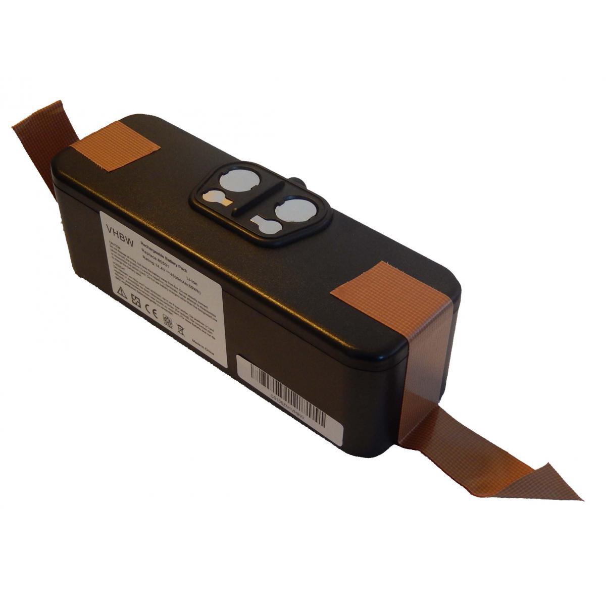 Vhbw vhbw Batterie Li-Ion 4500mAh (14.4V) compatible avec iRobot Roomba 605, 615, 616, 621, 651 aspirateur remplace 11702, GD