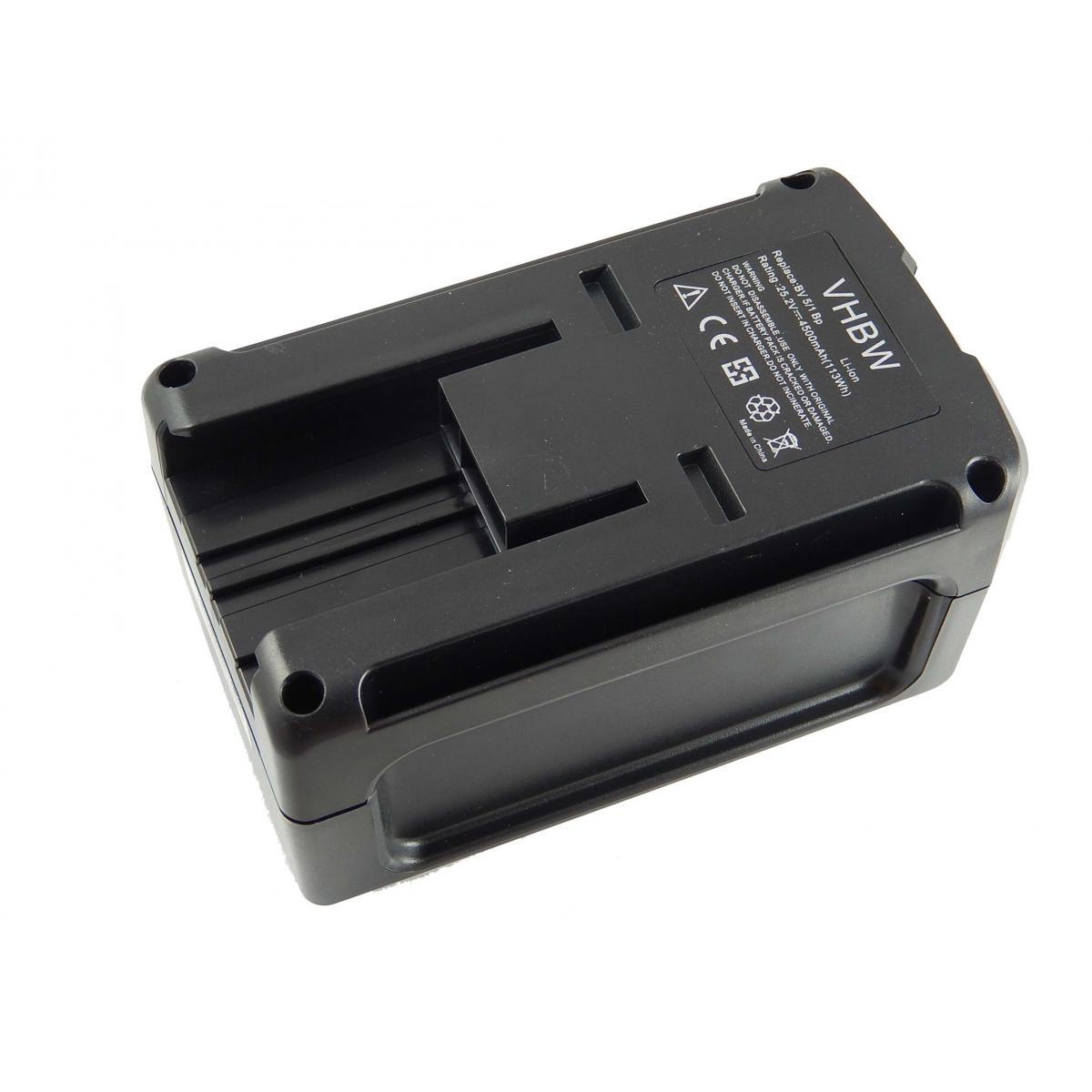 Vhbw vhbw Batterie Li-Ion 4500mAh (25.2V) pour appareil de nettoyage Kärcher BR 30/4 C et 6.654-255.0, 6.654-183.0, entre aut