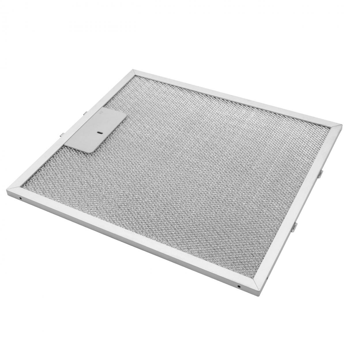 Vhbw vhbw Filtrepermanent filtre à graisse métallique 30,6 x 27,8 x 0,85 cm convient pour Faure HES601G hottes de cuisinière