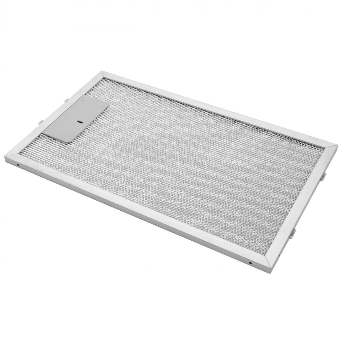 Vhbw vhbw Filtrepermanent filtre à graisse métallique 32,5 x 19,6 x 0,85 cm convient pour AEG X69453MD0 hottes de cuisinière