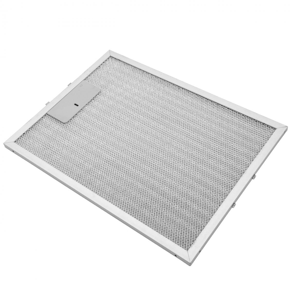 Vhbw vhbw Filtrepermanent filtre à graisse métallique 32,8 x 24,7 x 0,9 cm convient pour Alno AE 601 A 94264099500 hottes de