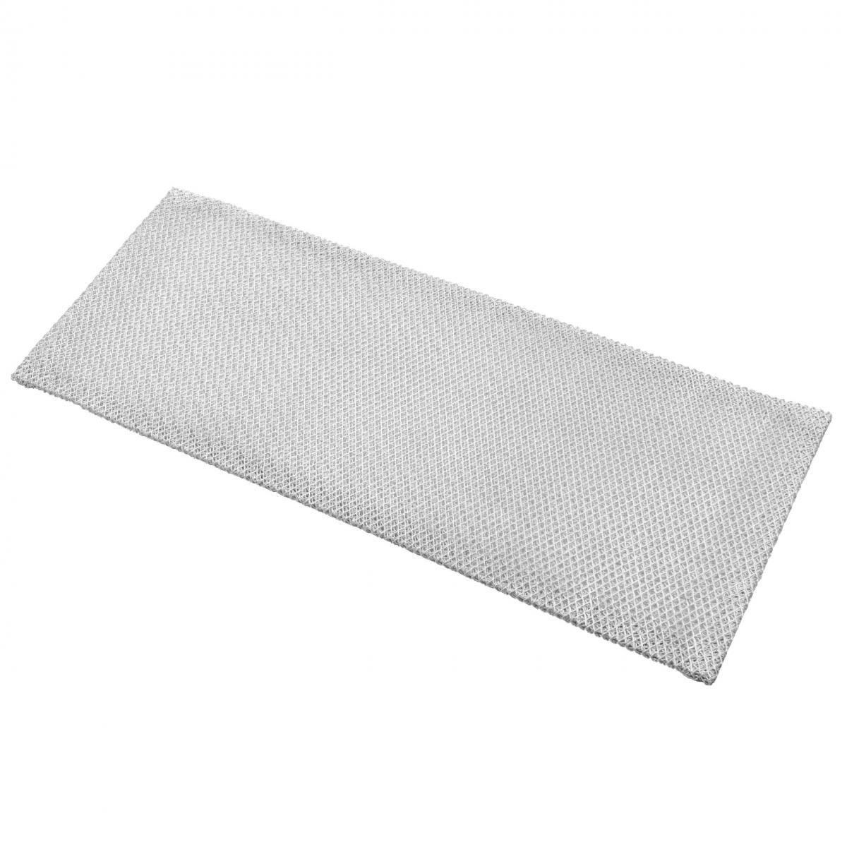Vhbw vhbw Filtrepermanent filtre à graisse métallique 36,8 x 14,7 x 0,45 cm remplacement pour Bauknecht 481948048257 hottes d
