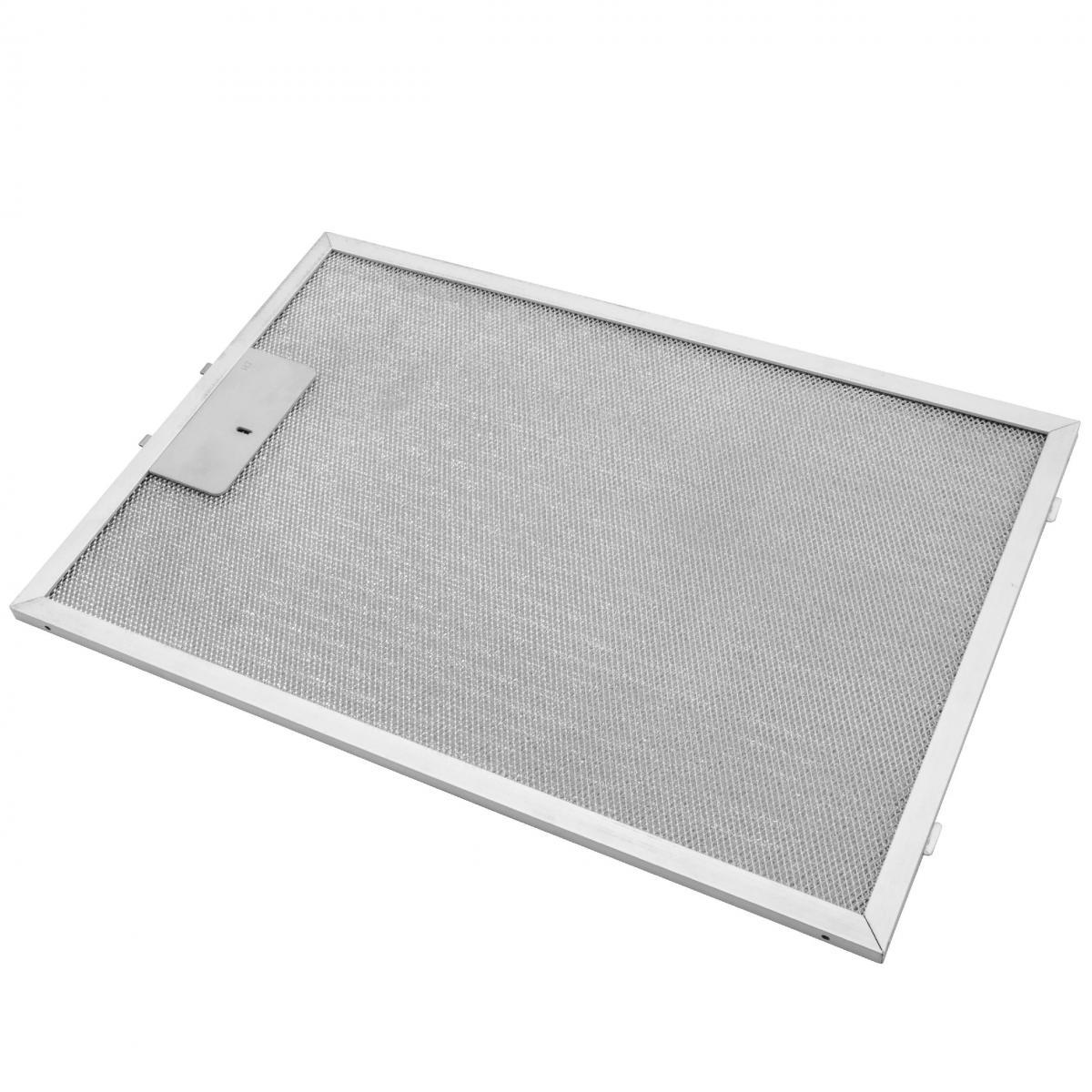 Vhbw vhbw Filtrepermanent filtre à graisse métallique 38,8 x 26,5 x 0,9cm convient pour Siemens LC 64 BA 521, 64 WA 221, 64 W