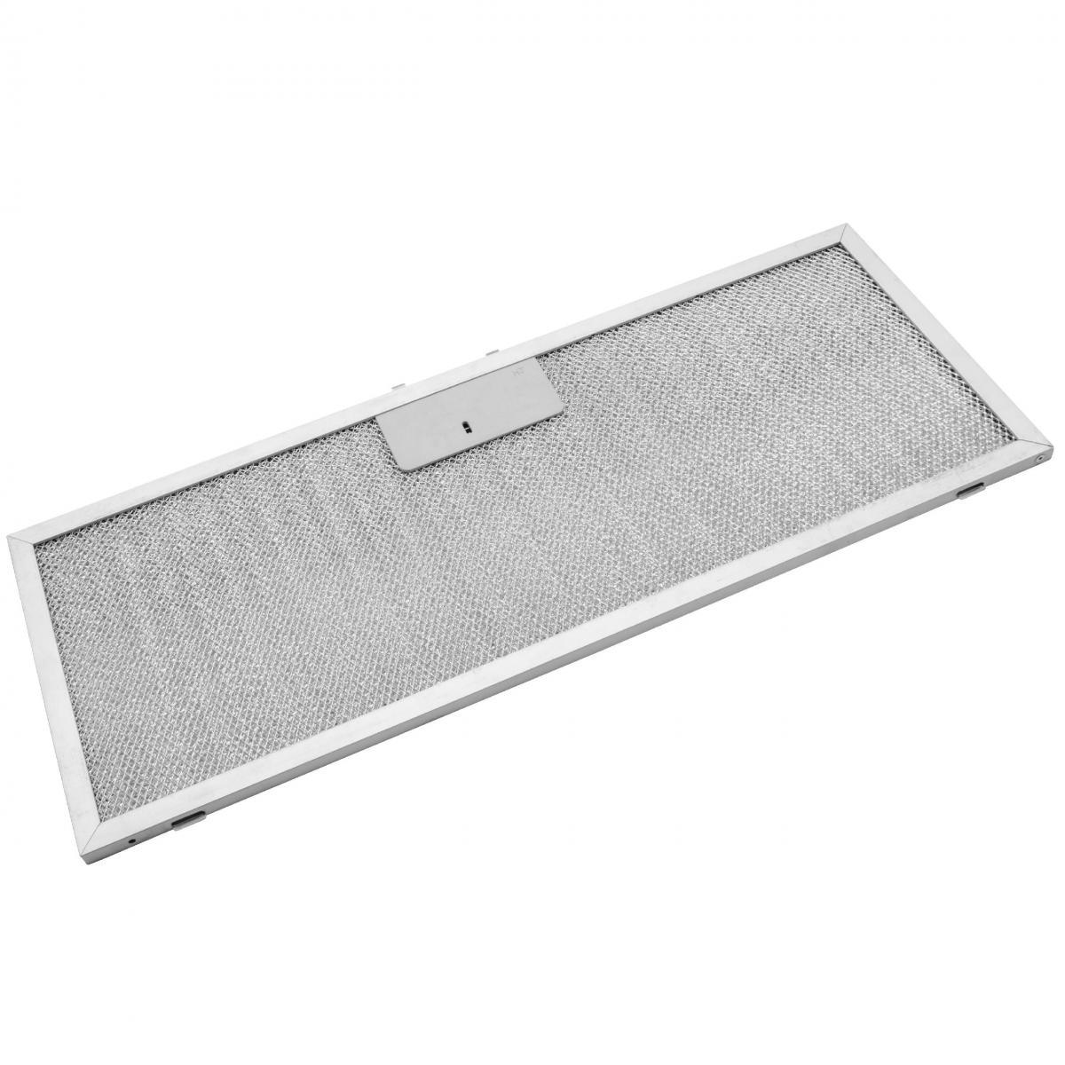 Vhbw vhbw Filtrepermanent filtre à graisse métallique 45,9 x 17,7 x 0,85 cm remplacement pour Bauknecht 481248058314 hottes d