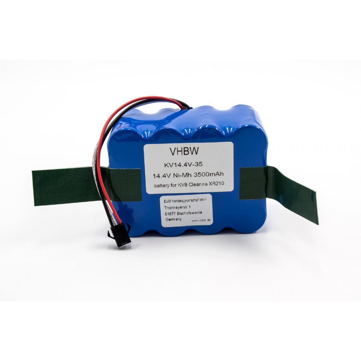 Vhbw vhbw NiMH batterie 3500mAh (14.4V) pour robot aspirateur Home Cleaner robots domestiques Nestor E.Ziclean Furtiv