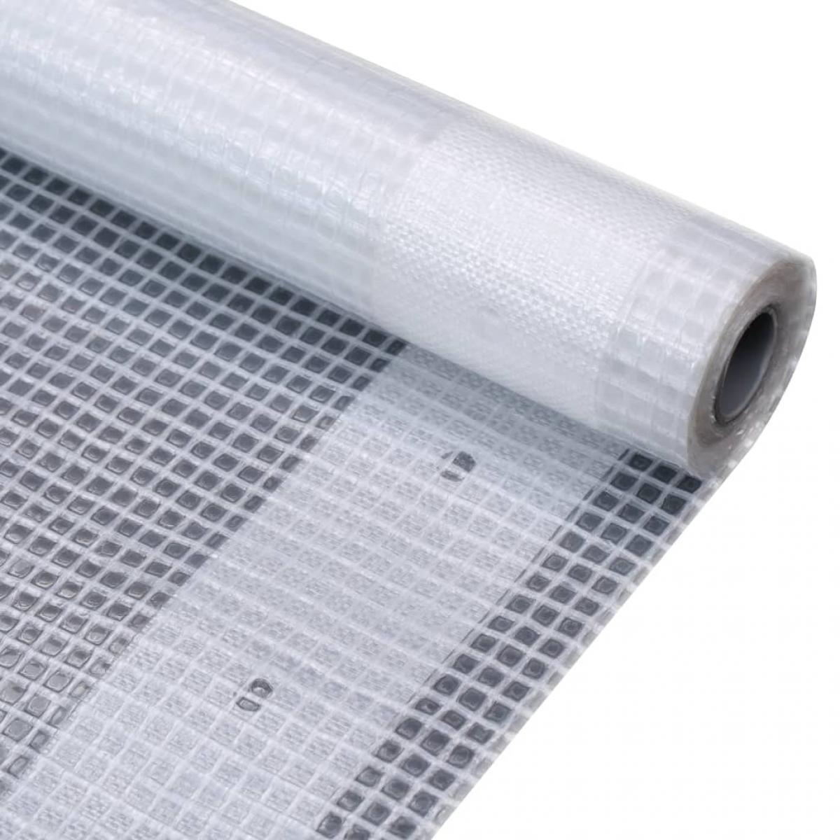 Vidaxl vidaXL Bâche Leno 260 g/m² 1,5 x 10 m Blanc