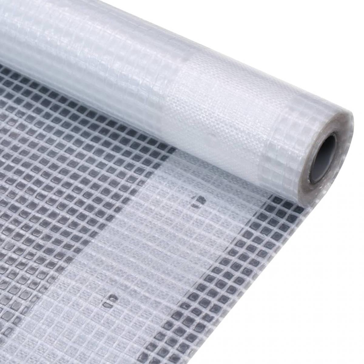 Vidaxl vidaXL Bâche Leno 260 g/m² 1,5 x 5 m Blanc