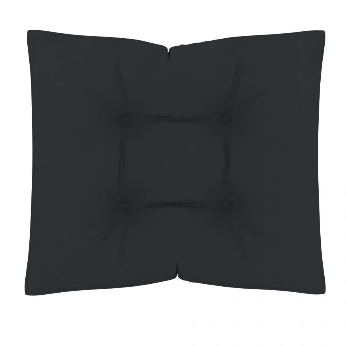 Vidaxl vidaXL Coussin de plancher de palette 60x61x10 cm Anthracite