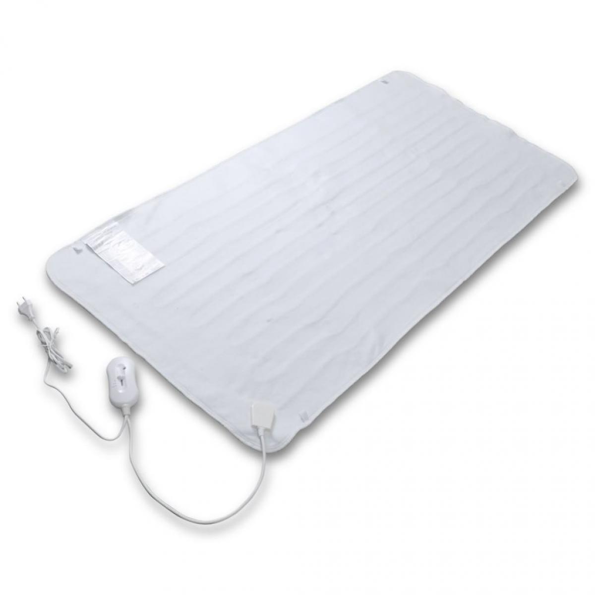 Vidaxl vidaXL Couverture électrique chauffante Polyester 150 x 70 cm