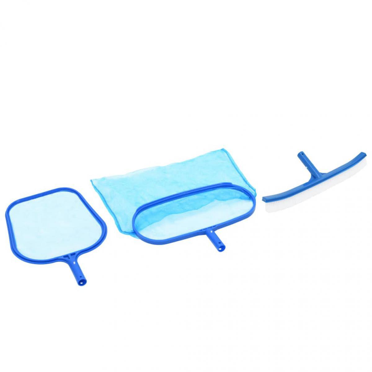 Vidaxl vidaXL Kit d'entretien de piscine 3 pcs
