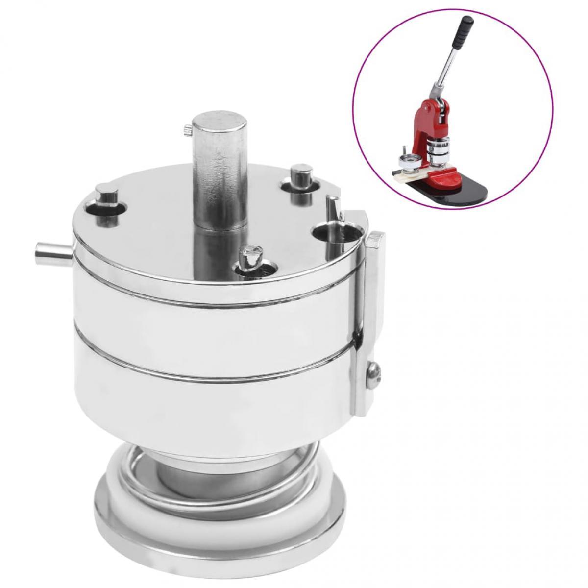 Vidaxl vidaXL Moule interchangeable pour machine à boutons 44 mm