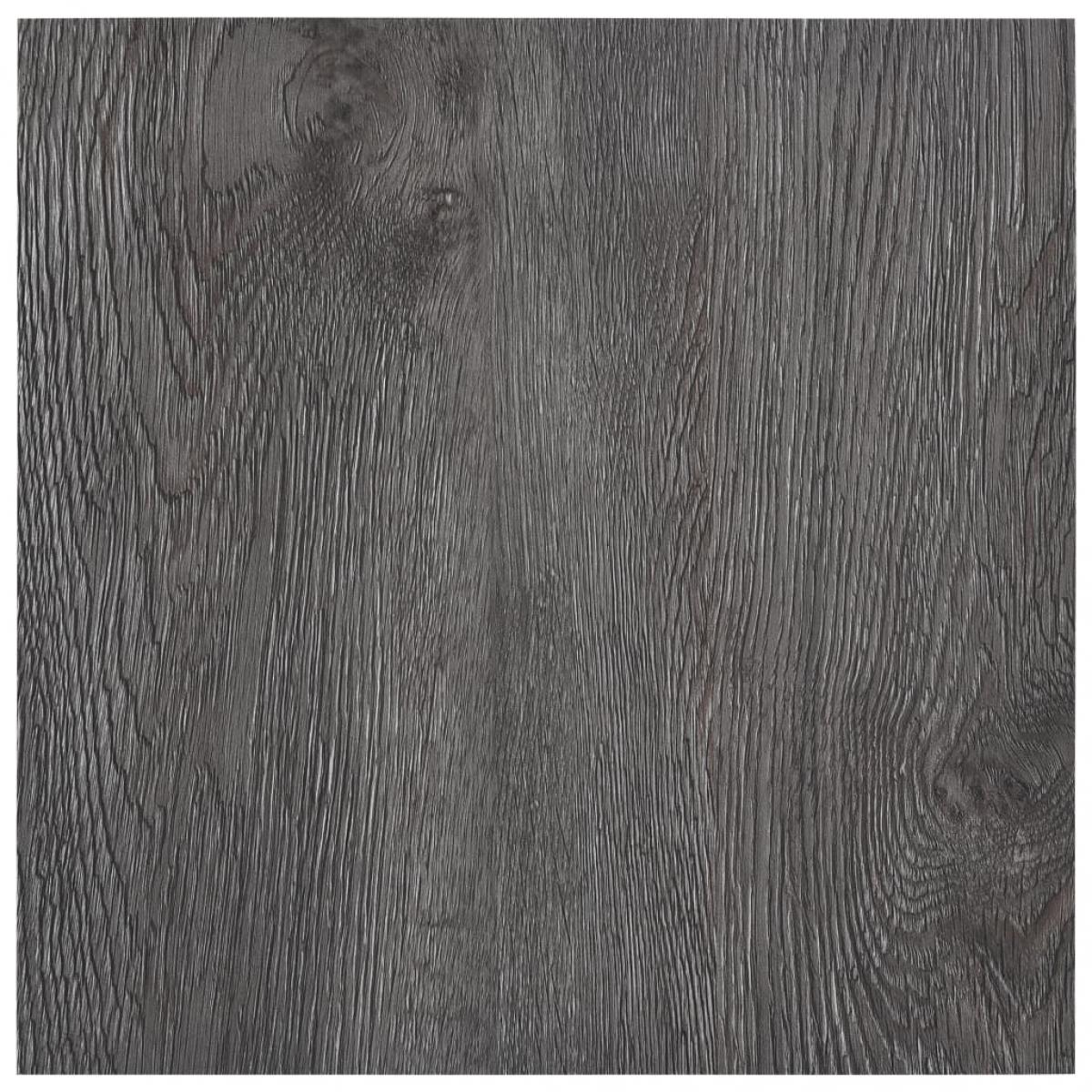 Vidaxl vidaXL Planches de plancher autoadhésives 5,11 m² PVC Marron