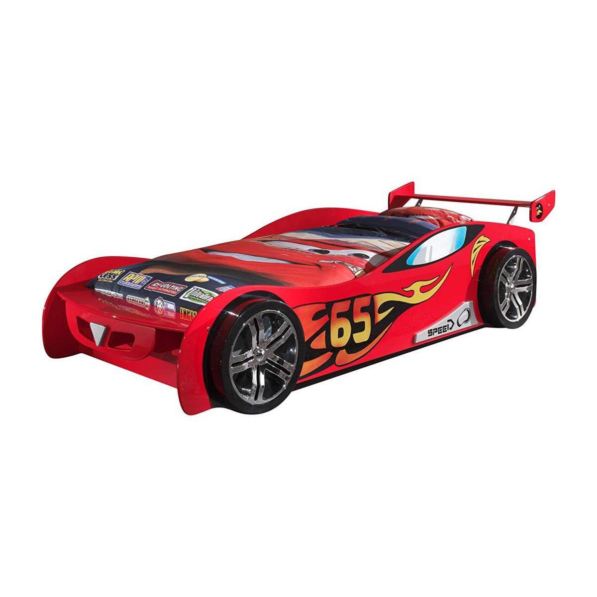 Vipack Vipack Funbeds Lit voiture Le Mans rouge