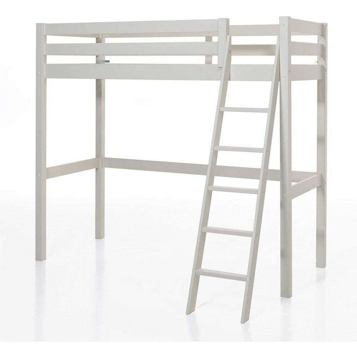 Vipack Vipack PINO Lit mezzanine 90x200 Blanc