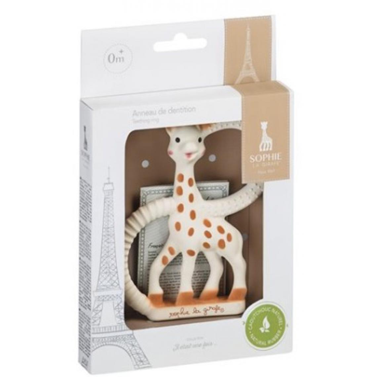 Vulli Sophie la Girafe anneau de dentition naturel