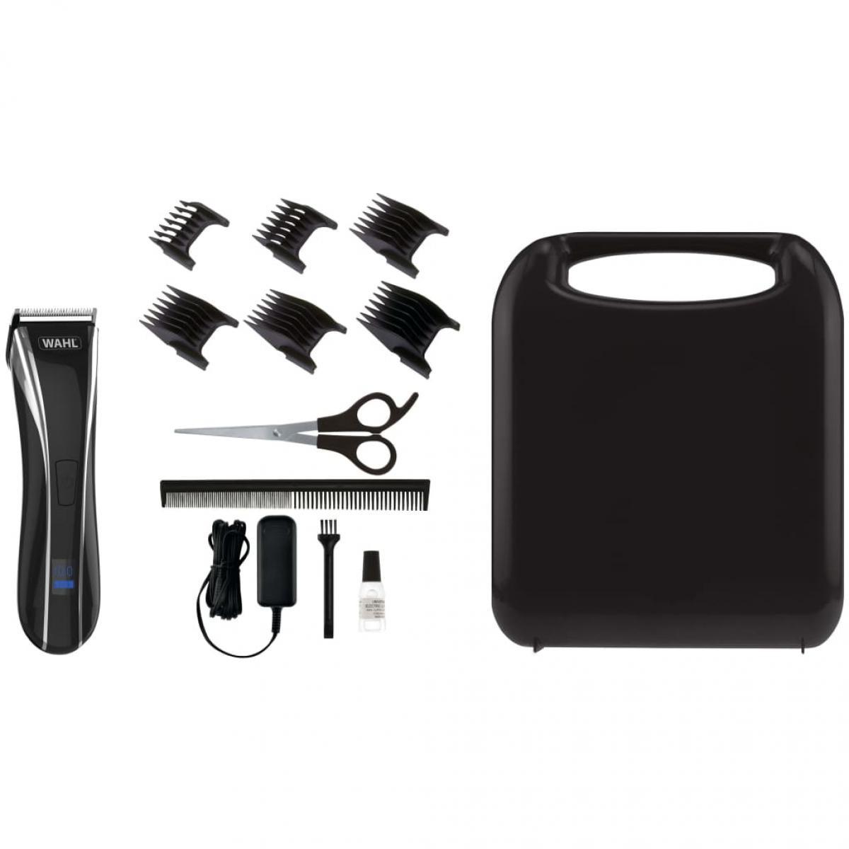 Wahl Wahl Kit de tondeuse à cheveux 13 pcs Lithium Pro LCD 6W