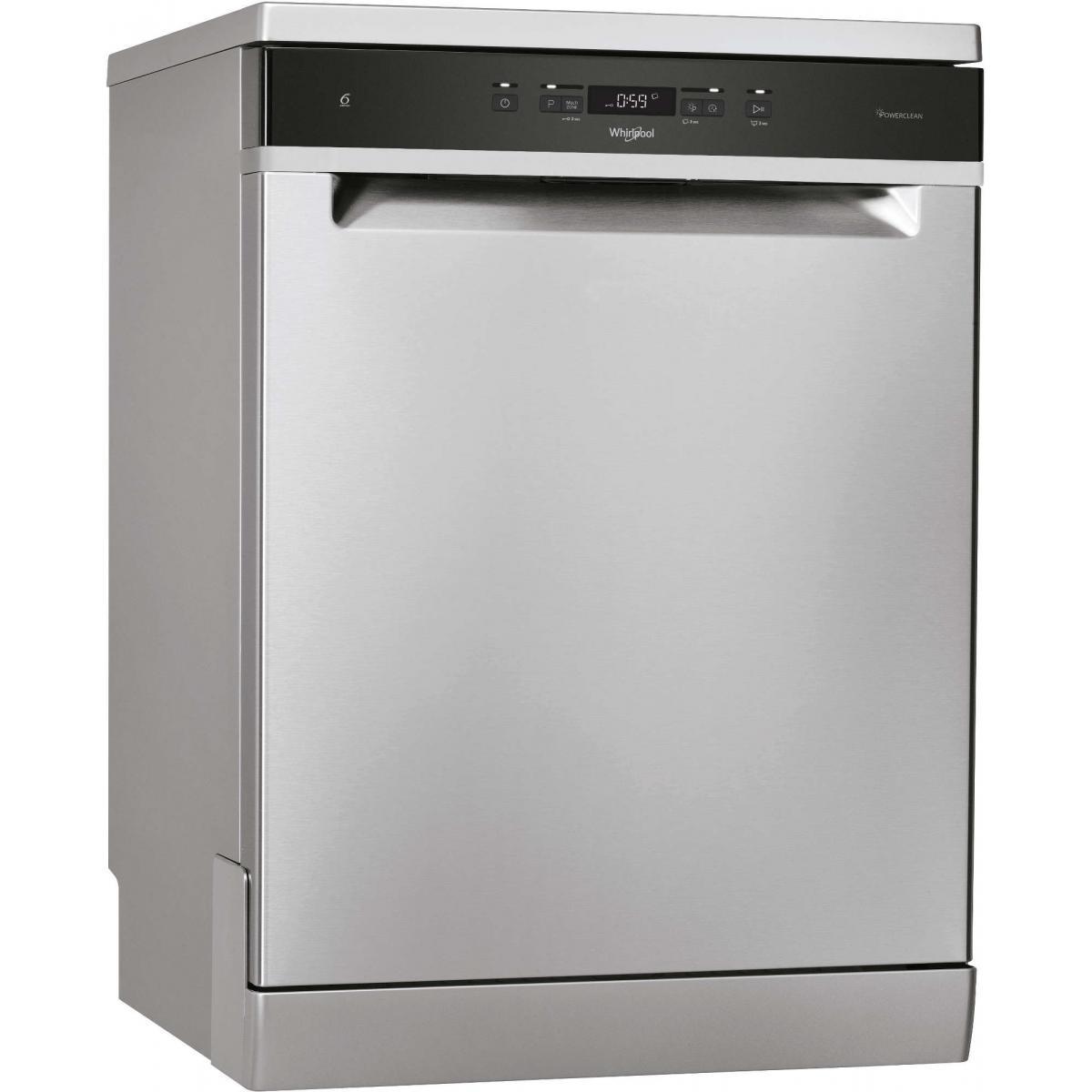 whirlpool Lave vaisselle 60 cm WHIRLPOOL WFC3C42PX