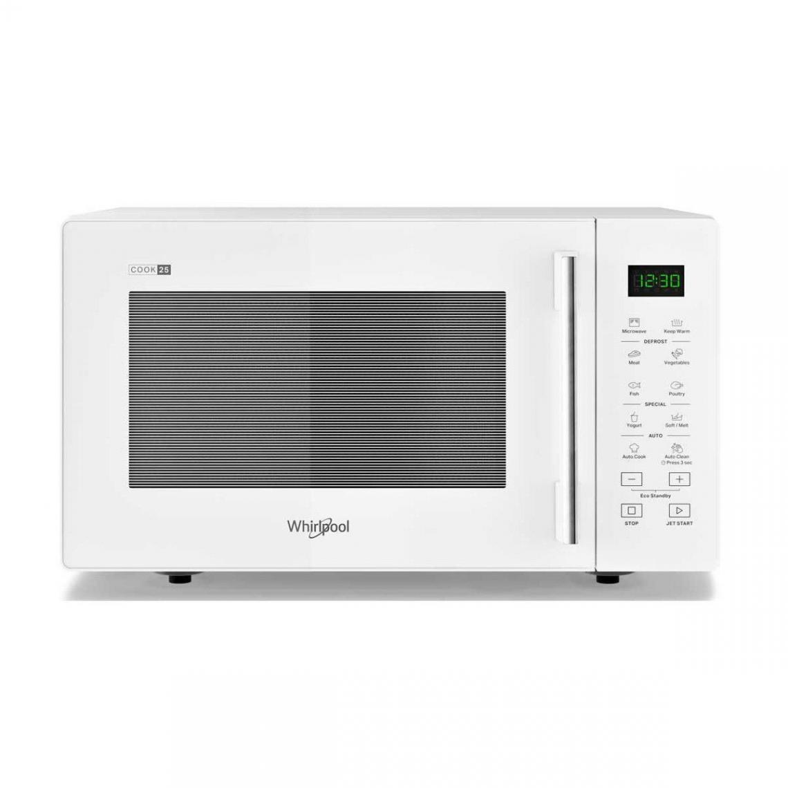 whirlpool Micro-ondes Pose Libre 25l Whirlpool 900w 28.1cm, 1121591